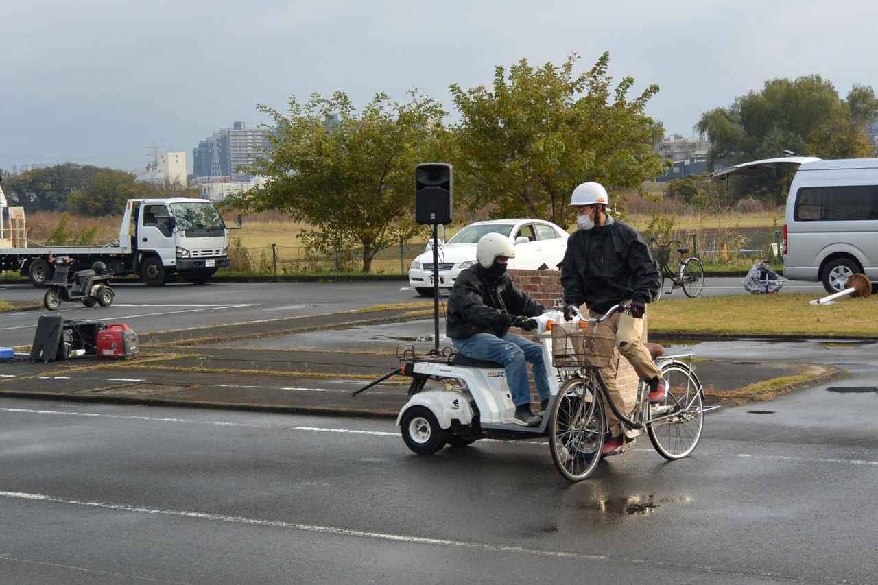 画像3: 宅配ライダーが安全運転技術披露 「第17回デリバリー業安全運転競技会」 団体部門優勝はピザーラチーム