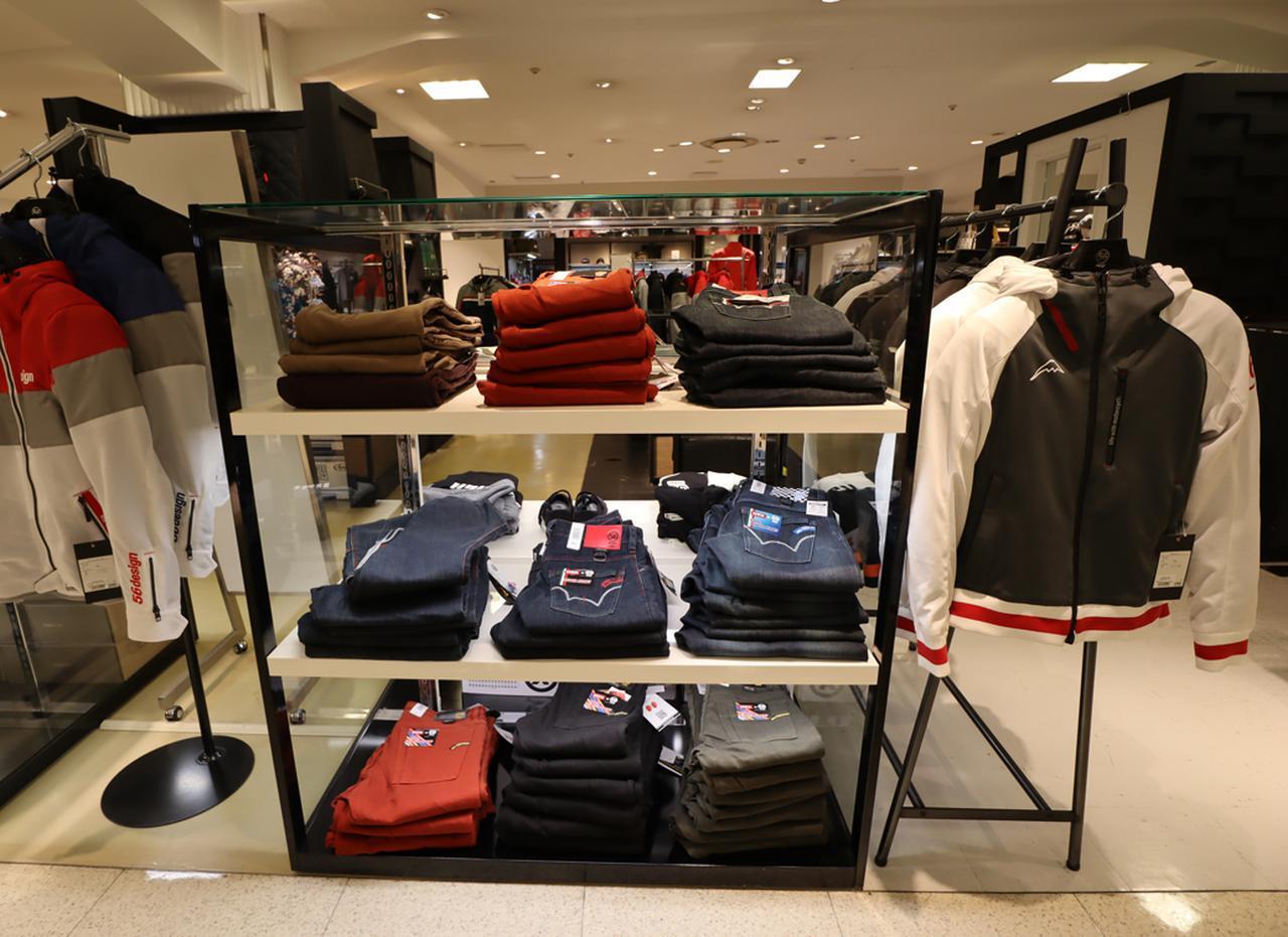 画像: クシタニやEDWINとのコラボ商品など多数展示