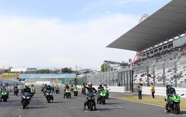 画像: 憧れのサーキットでレース体感(写真は昨年開催されたデモレースの模様)