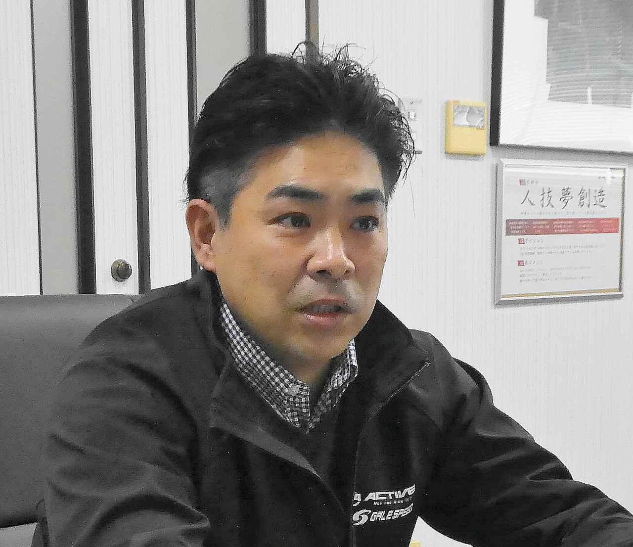 画像: アクティブ代表取締役社長・上田和由氏 2019年10月、同社3代目となる経営トップに就任した