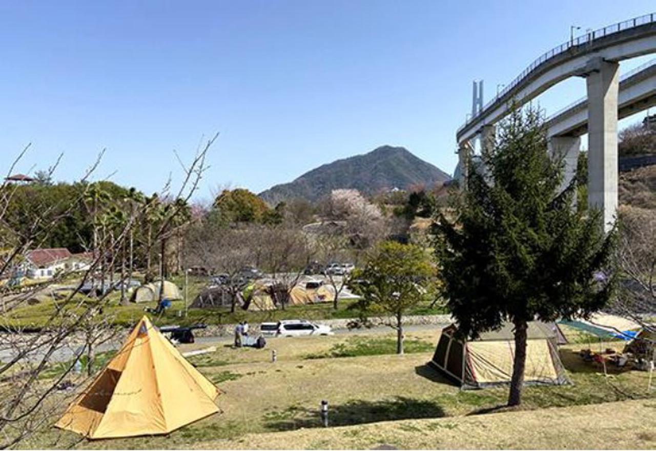 画像: メイン会場となる多々羅キャンプ場(大三島)