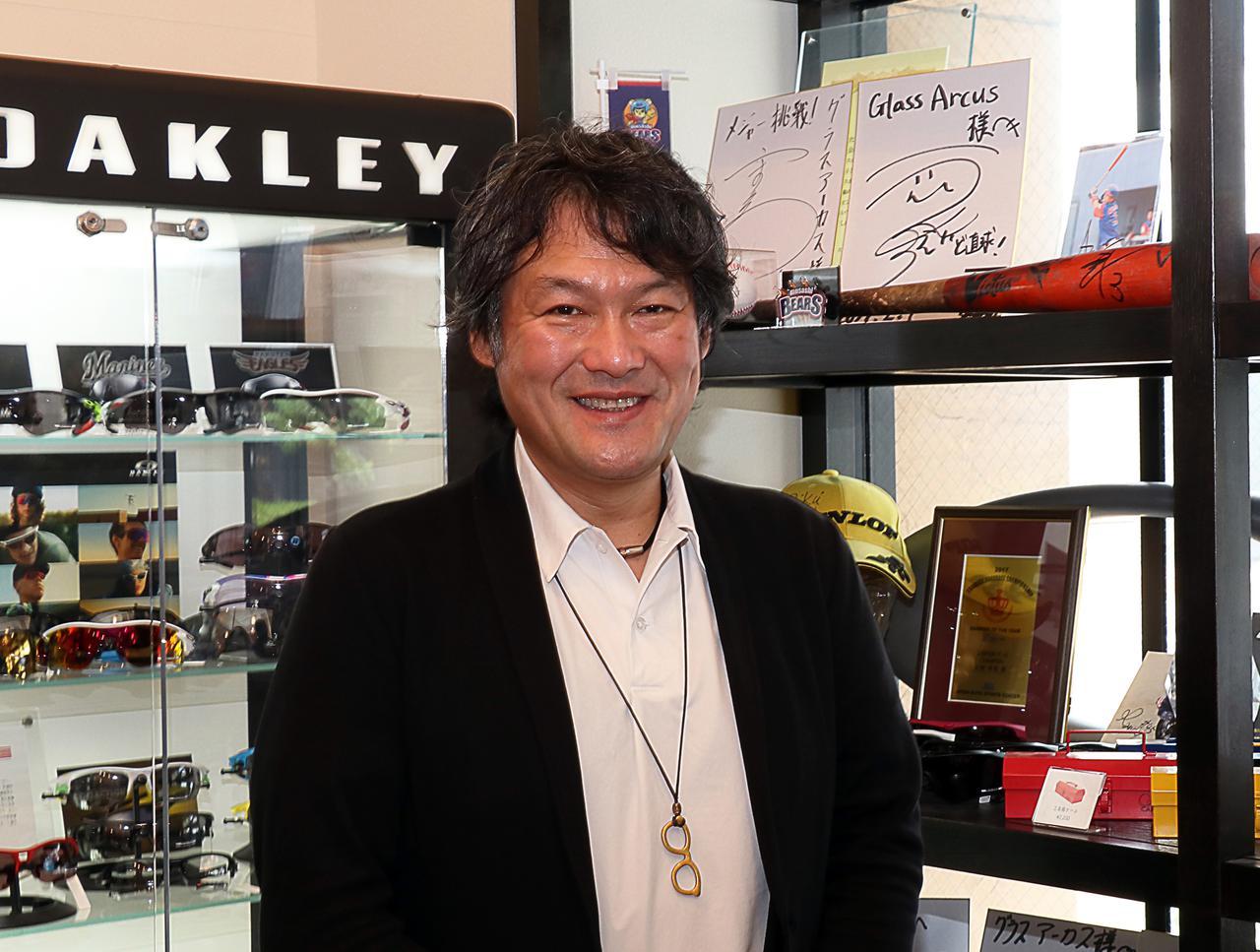 画像: 製作者で店舗マネージャーの辻村氏  ※2021年5月取材時