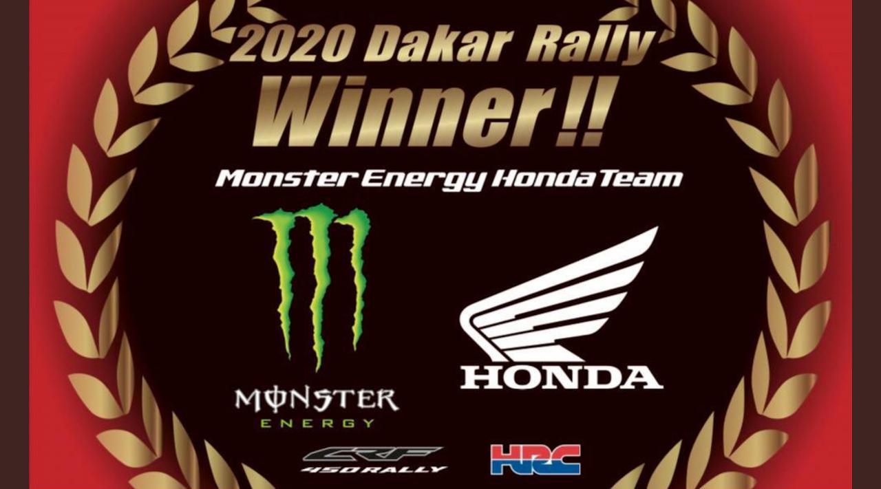 """画像: <結果速報!>ホンダが""""31年ぶり""""のダカール総合優勝!リッキー・ブラベックがKTMの19連覇を阻止!【Dakar Rally 2020】 - webオートバイ"""