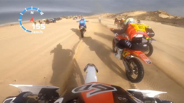 画像: [動画] 砂の上で168km/!! 全開、全開、また全開!! めっちゃ怖いっス・・・!? - LAWRENCE - Motorcycle x Cars + α = Your Life.