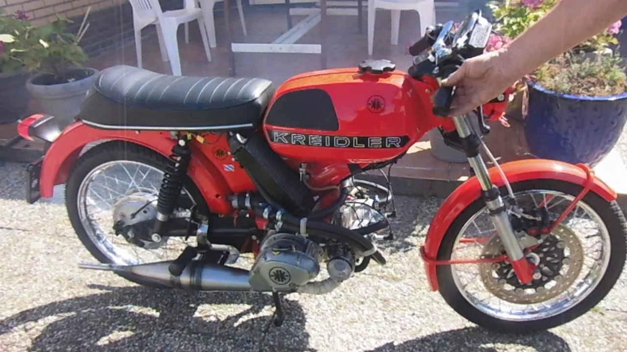 画像: 2 cilinder Kreidler www.youtube.com