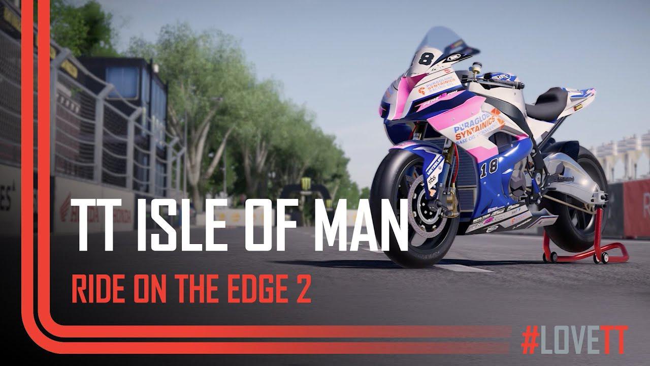 画像: TT Isle of Man - Ride On The Edge 2 | TT Races Official www.youtube.com