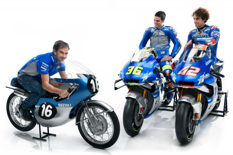 """画像: [MotoGP] 2020年のスズキGSX-RRが、""""銀多め""""なワケ? - LAWRENCE - Motorcycle x Cars + α = Your Life."""