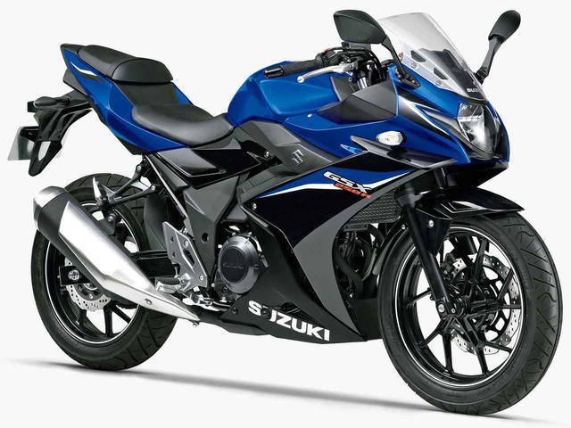 画像: SUZUKI GSX250R(2020年現行モデル)/消費税10%込53万6,800円