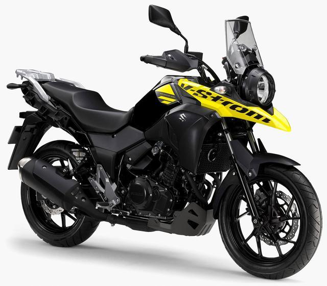 画像: SUZUKI V-Storom250 ABS(2020年現行モデル)/消費税10%込61万3,800円(ABS非搭載車は58万800円)