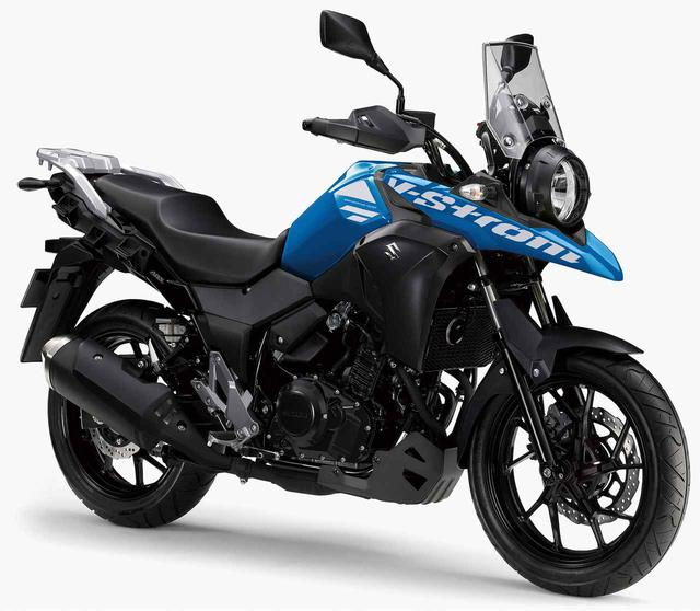 画像: スズキ「Vストローム250」「Vストローム250 ABS」主なスペックと価格 (2020年モデル)