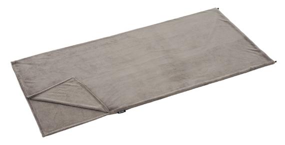 画像: インナーシュラフは専用のものを持ってなくても、うすーい毛布でいいんです♪