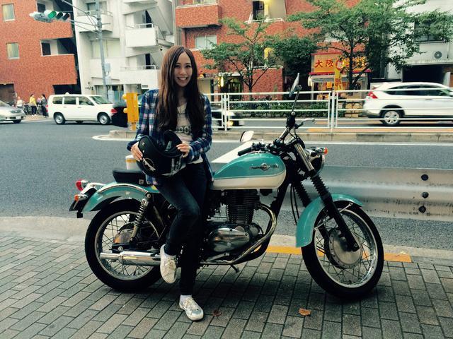 画像: Akiko記者、実家保有のカワサキ・エストレヤ(ESTRELLA)がやってきた。 - LAWRENCE - Motorcycle x Cars + α = Your Life.