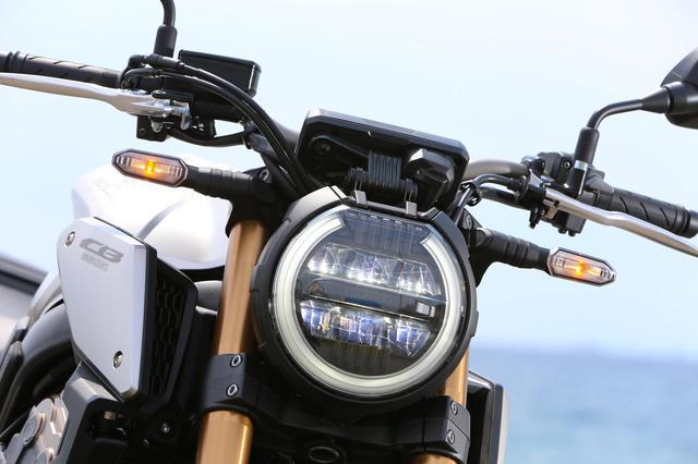 画像: 1000/250/125と共通イメージに仕上げられたフロントマスクデザイン。LEDヘッドライトは、円周方向にリングポジションランプを配置し、LEDウィンカーは本体デザイン、位置ともスポーティだ。