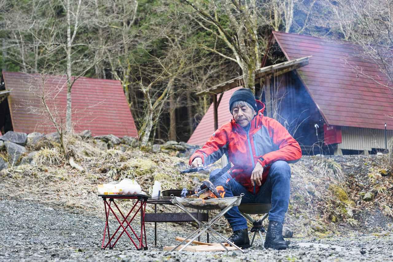 画像: 今月は、ある渓流沿いのキャンプ場にお邪魔してきました