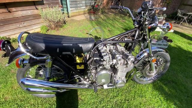 画像: Kawasaki Z1 1396cc Super Six Running www.youtube.com