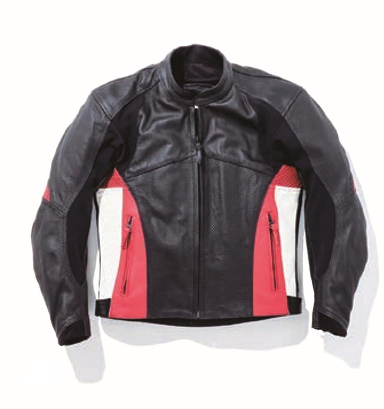 画像: 南海部品 エアロレザージャケット 黒赤/黒グレー M/L/LL/XL 5万2000円(税別)