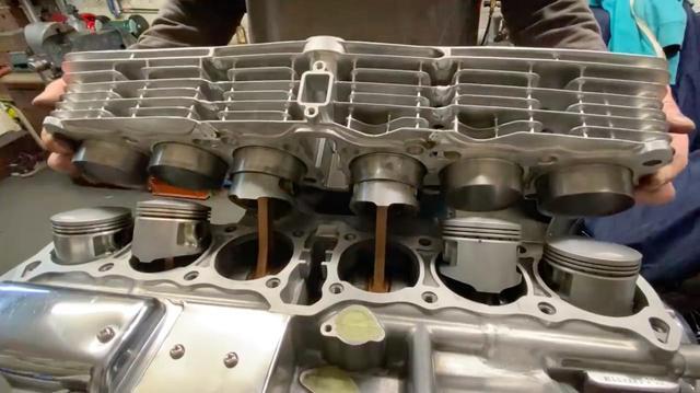 """画像: [6気筒] カワサキ""""1396 スーパー6""""の作り方講座。6気筒シリンダーの作り方・・・を伝授します!? [動画] - LAWRENCE - Motorcycle x Cars + α = Your Life."""
