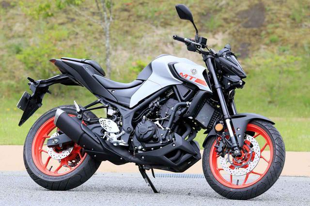 画像: YAMAHA MT-25 総排気量:249cc メーカー希望小売価格:62万1500円(MT-25の2020年モデルはABS仕様車のみラインナップ) 2020年モデルの発売日:2020年3月28日(モデルチェンジしたのはこの2020年モデルから)