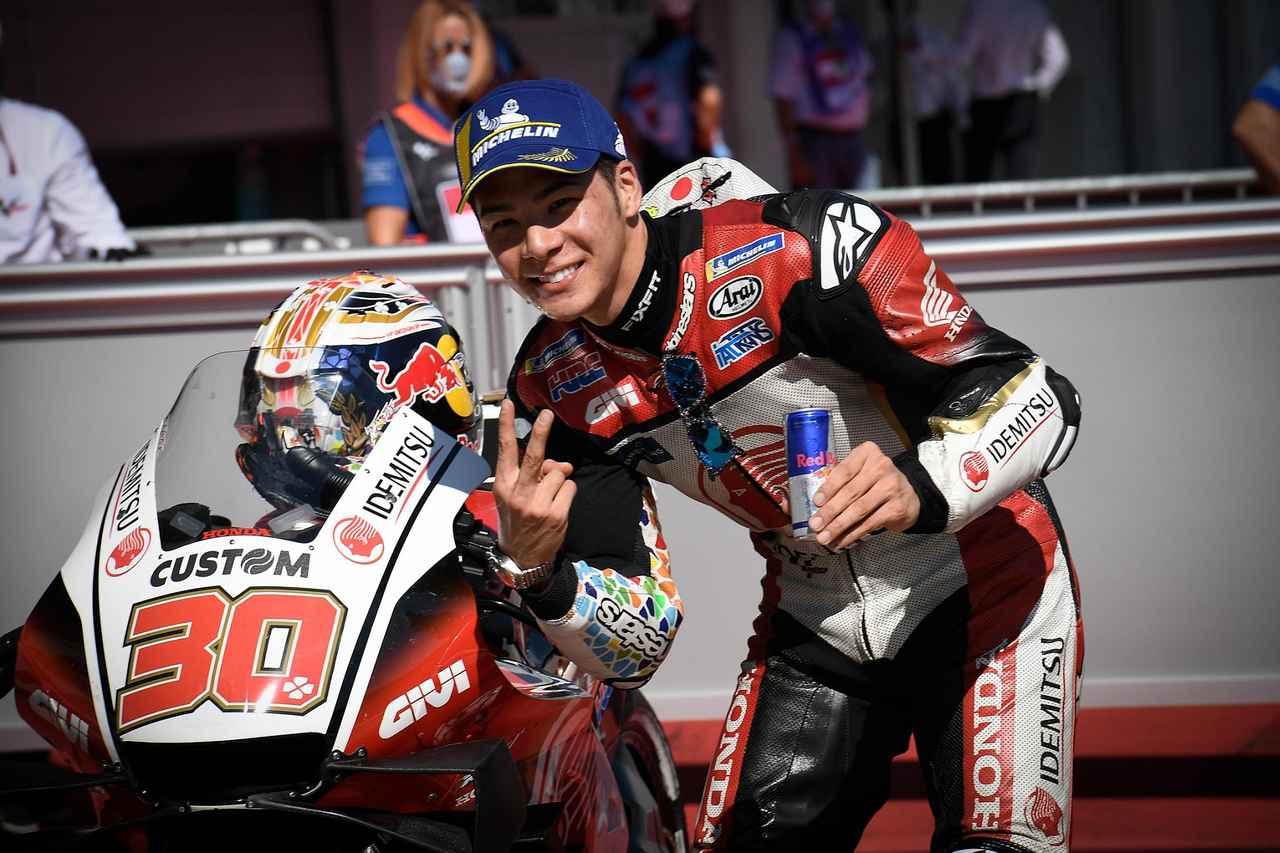 画像: MotoGP初フロントロー 2番グリッドを獲得したタカ中上