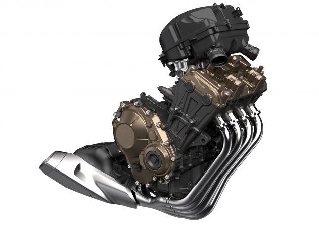 画像: 公道にフィットするCBR650Rのエンジン