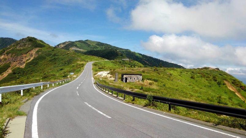 画像: 別日に撮影した国道292号線 志賀草津道路 山田峠