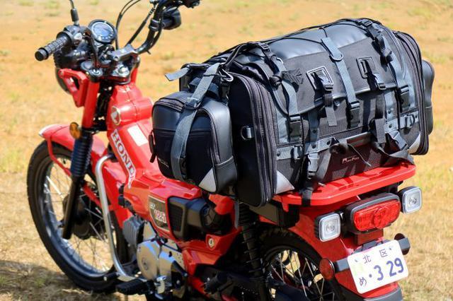 画像2: 大荷物も余裕で積める! 驚くべき荷物積載力