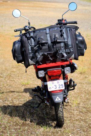 画像2: 原付二種/125ccバイク最強か!? ホンダ『CT125・ハンターカブ』はキャンプツーリングの適性が高すぎる!