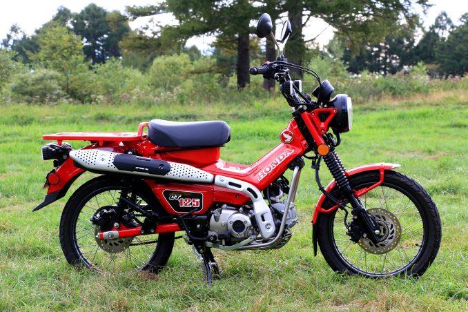 画像1: 原付二種/125ccバイク最強か!? ホンダ『CT125・ハンターカブ』はキャンプツーリングの適性が高すぎる!