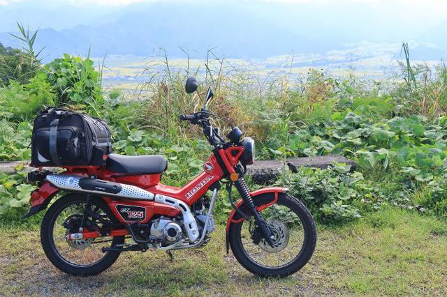 画像: Honda CT125・ハンターカブ ※写真のバッグは筆者の私物です。