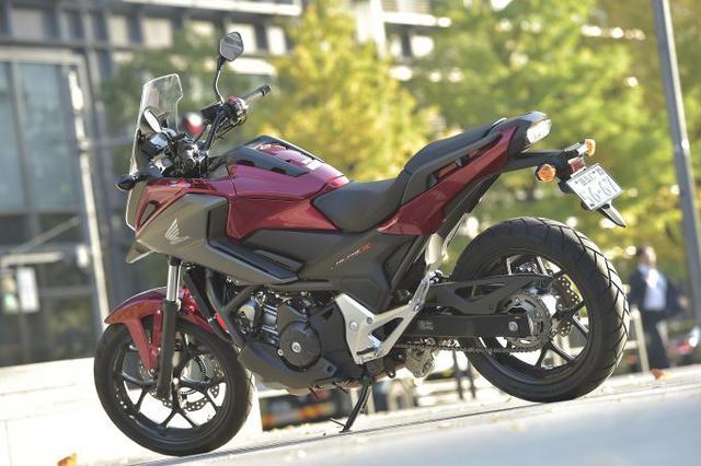 画像: NC750Xは純粋なオンロードバイク