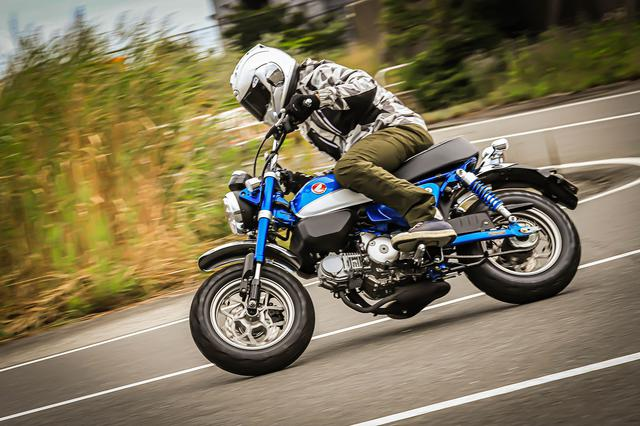 画像: 125ccだってスポーツできる!って思えるモンキー125は足周りが本格派!【原付二種で楽しむホンダのバイク! /Honda Monkey125 中編】