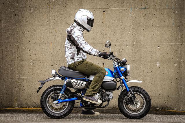 画像: モンキー125ってどんなバイク? 燃費や足つき性、装備などを解説!【ホンダバイク資料室/Honda Monkey125(2020)】