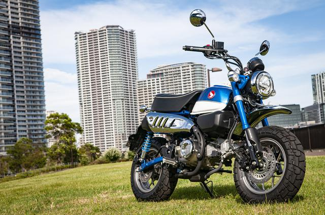 """画像: 125ccで大きくなった『モンキー』はメリットだらけ! ミニバイクを超えた""""ネオ・レジャー""""へ【原付二種で楽しむホンダのバイク!/Honda Monkey125 前編】"""