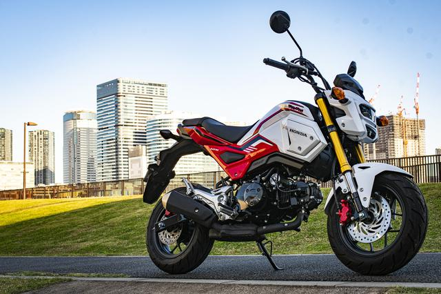 画像1: 進化を続ける125ccバイク!『グロム』が原付二種スポーツを代表する存在になったワケ【原付二種で楽しむホンダのバイク! Honda GROM 前編】
