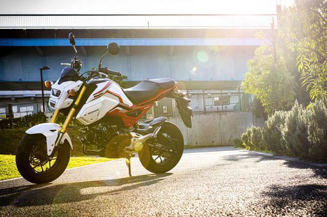 画像1: 進化を続ける原付二種トップクラスの正統派125ccスポーツがグロム(GROM)