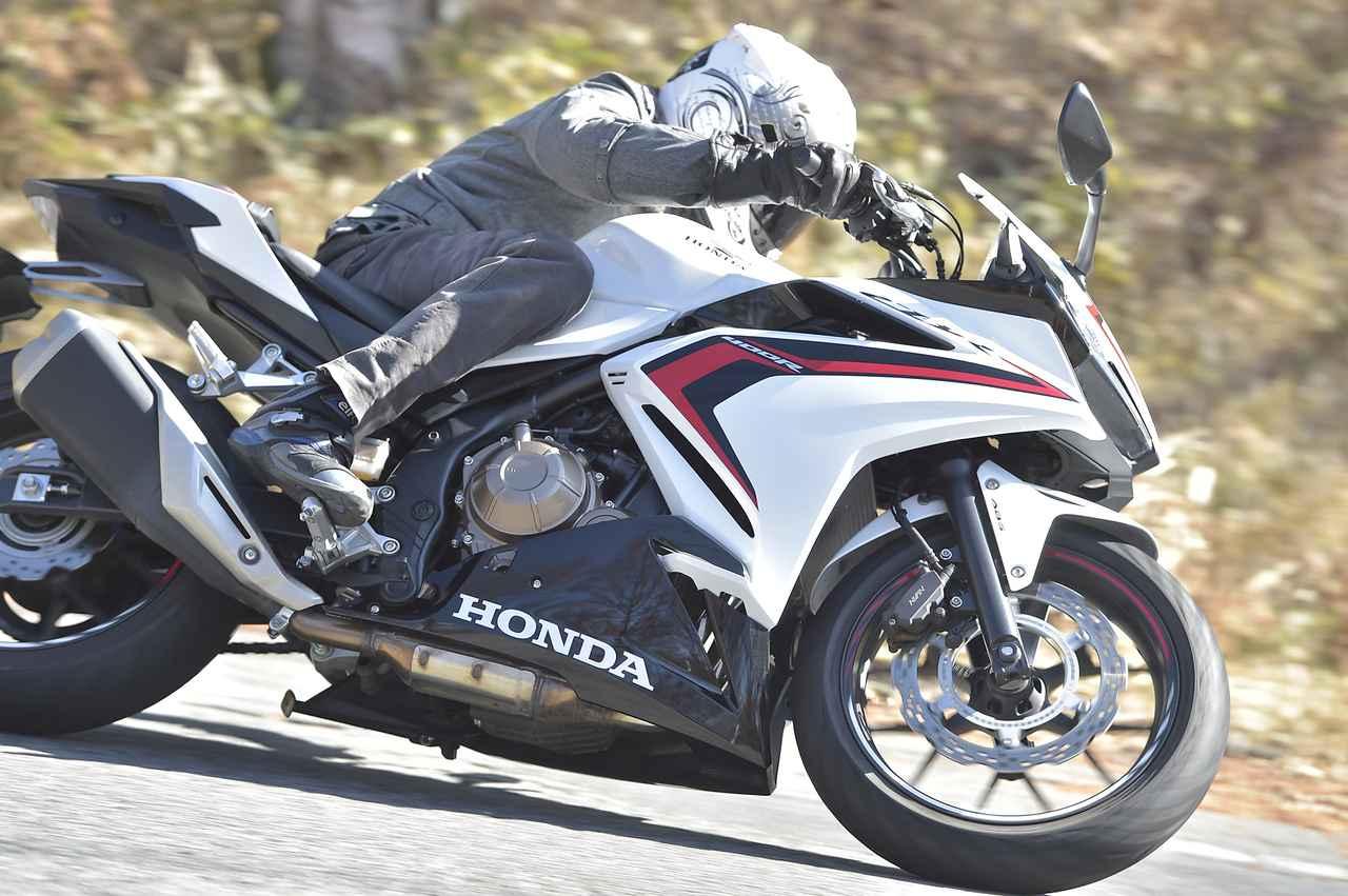 画像1: ありそうでなかった? CBR400Rは走ることの楽しさを『正しく』教えてくれる400ccのバイクです!