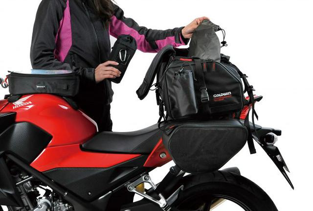 画像1: ツーリングバッグが必要かどうかは『走る距離』や『旅の荷物の量』で判断