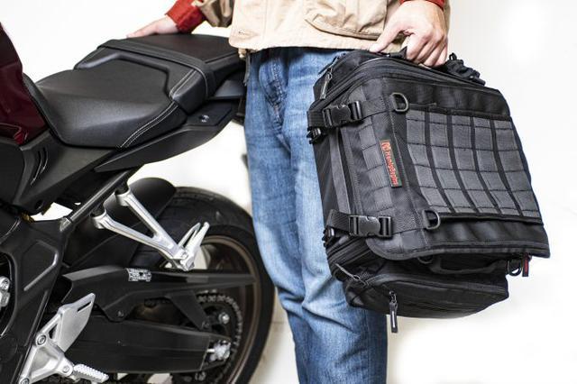 画像2: ツーリングバッグが必要かどうかは『走る距離』や『旅の荷物の量』で判断