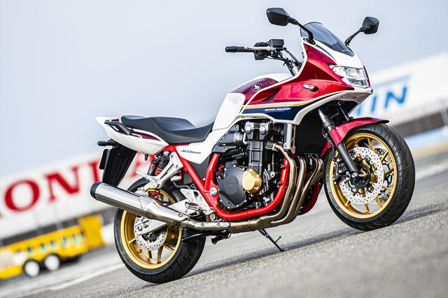画像: 大型バイクの王道! ホンダの新型『CB1300』シリーズはSPもいいけど、スタンダードに存在感アリ!