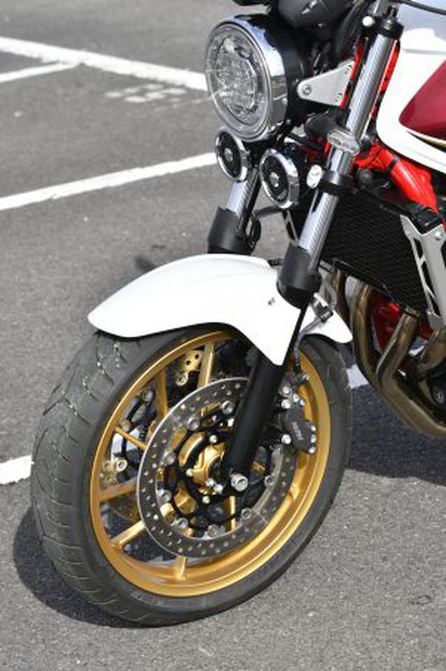 画像: 【実車公開】大型バイクの王道! ホンダの新型『CB1300SF』と『CB1300SB』はSPもいいけど、スタンダードに存在感アリ!【2021新車ニュース/Honda CB1300 SUPER FOUR/SUPER BOL D'OR】