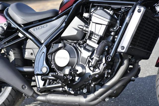 画像6: レブル1100は装備がほとんどスポーツバイク