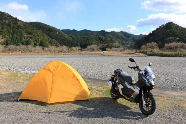 画像2: ADV150で片道250kmのキャンプツーリング