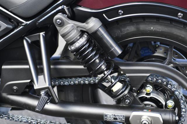 画像1: レブル1100は装備がほとんどスポーツバイク