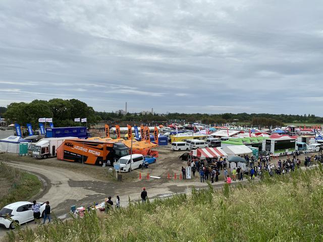 画像: 土曜は晴天、日曜はお昼前後にボツボツッと雨が落ちましたけど、ほとんどドライでのレースができました!