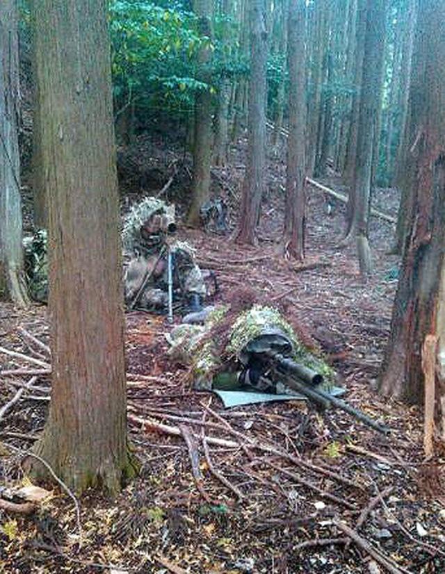 画像10: 通信・衛生・狙撃の訓練検閲|陸自対馬警備隊