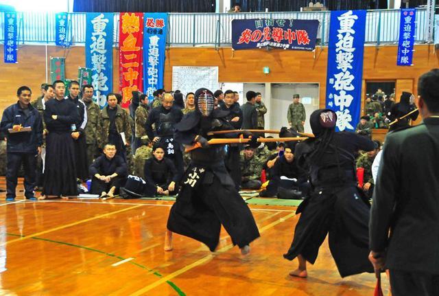 画像1: 「勝ちにこだわれ」武道・炊事競技会|都城駐屯地
