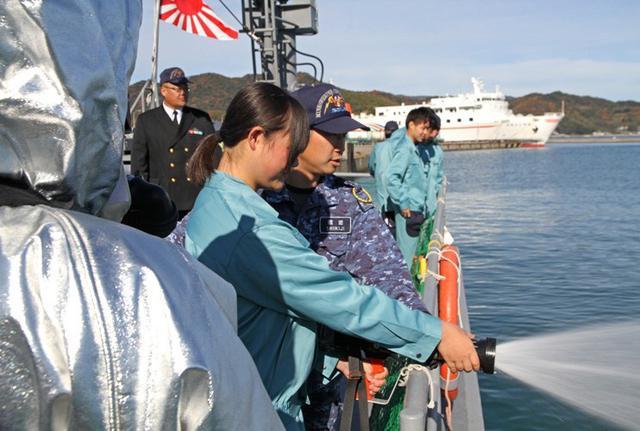 画像3: 海洋科学高校の生徒に艦艇特別公開|大分地本