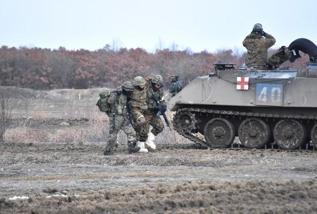 画像10: 総合戦闘射撃訓練 任務を完遂|陸自7師団
