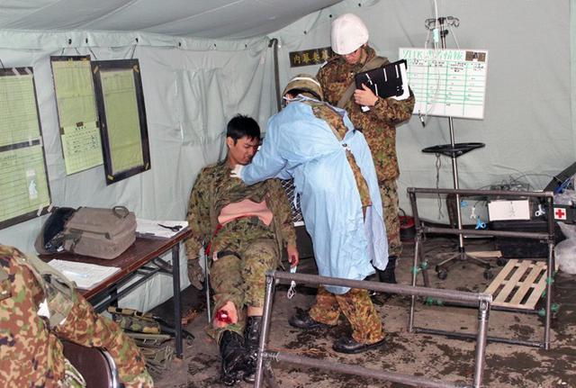 画像10: 戦傷治療を演練 救命率向上を徹底|陸自7師団