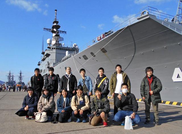 画像1: 輸送艦「しもきた」宿泊、体験航海|香川地本